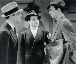 William Powell, Sam Levene and Jimmy Stewart in After The Thin Man 1936