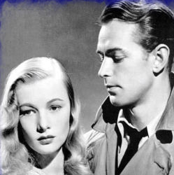 Veronica Lake with Alan Ladd This Gun For Hire 1942