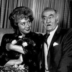 Andy Clyde with Joan Blondell (The Real McCoys)