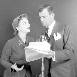 Joseph Cotten with Anne Baxter NBC Radio