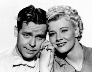 Penny Singleton with Arthur Lake