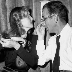 Lauren Bacall with Humphrey Bogart