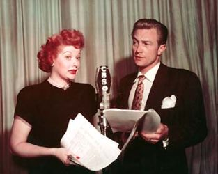 Lucille Ball & Richard Denning (My Favorite Husband)
