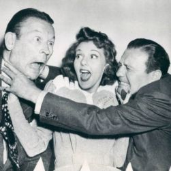 Mary Martin with Fred Allen and Jack Benny (Love Thy Neighbor 1940)