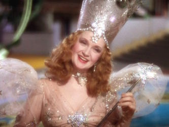 Billie Burke as Glinda in The Wizard Of Oz (1939)