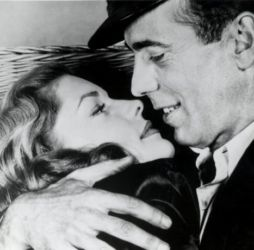 Lauren Bacall with Humphrey Bogart (To Have and Have Not 1944)