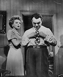 Claire Trevor and Edward G. Robinson in Key Largo