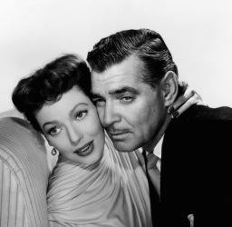 Clark Gable with Loretta Young