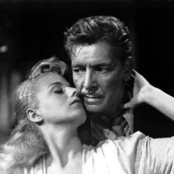 Ronald Colman with Shelley Winters (A Double Life 1947)