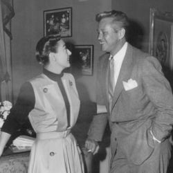 David Brian with Joan Crawford 1950