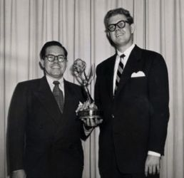 Daws Butler with Stan Freberg