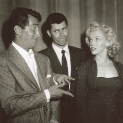 Dean Martin and  Jerry Lewis with Marilyn Monroe