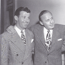 Dennis Day with Jack Benny