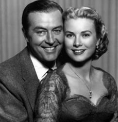 Ray Milland with Grace Kelly (Dial M For Murder 1954)