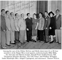 Fibber McGee and Molly Cast