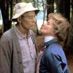 Henry Fonda and Katharine Hepburn (On Golden Pond 1981)
