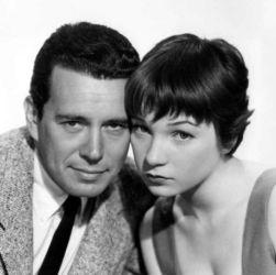 John Forsythe with Shirley MacLaine (The Trouble With Harry 1955)