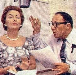 Jean Vander Pyl (Wilma) & Alan Reed (Fred) The Flintstones