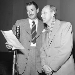 Gregory Peck (with Kay Kyser)