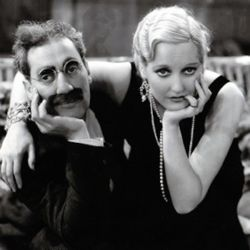 Groucho Marx with Thelma Todd (Horse Feathers 1932)