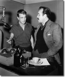 William Conrad (Matt) with Sound Effects Guy, Ray Kemper