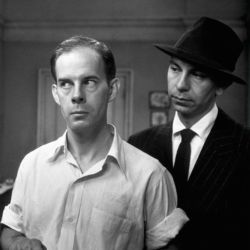 Harry Morgan and Jack Webb (Appointment For Danger 1951)