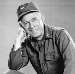 Harry Morgan (as Col. Potter on M*A*S*H)