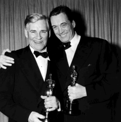 Walter and John Huston (Oscars for Treasure Of The Sierre Madre 1948)