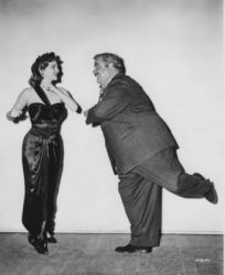 J. Scott Smart (from The Fat Man Movie) with Julie London