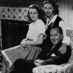 Jack, Mary and Joan Benny