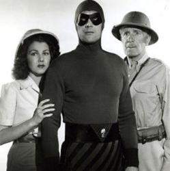 Jeanne Bates with Tom Tyler and Frank Shannon (The Phantom 1943)