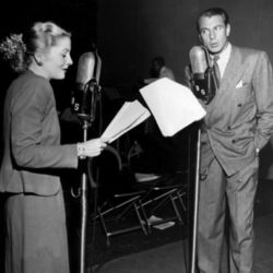 Gary Cooper (with Joan Fontaine) on CBS Radio
