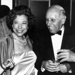 Judy Canova with George Raft 1979