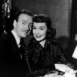 Jane Wyman with David Niven in A Kiss In The Dark (1949)