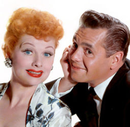 Desi Arnaz with Lucille Ball