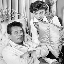 Ida Lupino with Howard Duff (Mr. Adams and Eve TV 1957)