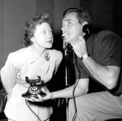 Howard Duff with Lurene Tuttle