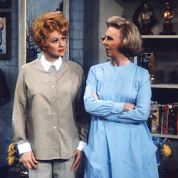 Mary Jane Croft (Lewis) with Lucille Ball