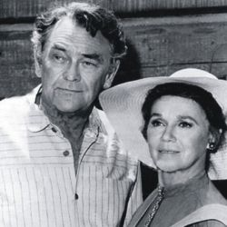 John McIntire and wife, Jeanette Nolan