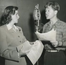 Mickey Rooney and Judy Garland (Babes In Arms Radio Production)