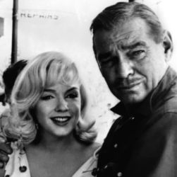 Clark Gable with Marilyn Monroe in The Misfits 1960