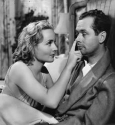 Robert Montgomery with Carole Lombard in Mr. & Mrs. Smith
