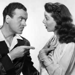Loretta Young with David Niven in The Perfect Marriage (1947)
