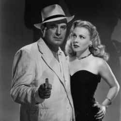 Pat O'Brien with Anne Jeffreys in Riffraff 1947