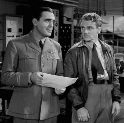 Pat O'Brien with James Cagney in Ceiling Zero 1936