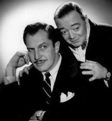 Vincent Price with Peter Lorre