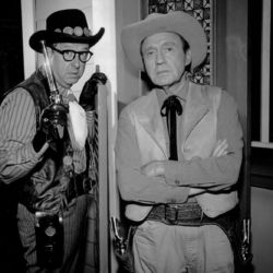 Phil Silvers and Jack Benny