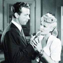 Claire Trevor with Dick Powell in Murder My Sweet 1944
