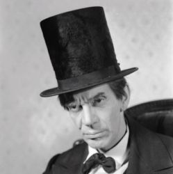 Raymond Massey as Lincoln 1940