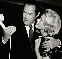 Rex Harrison and Doris Day in Midnight Lace 1960
